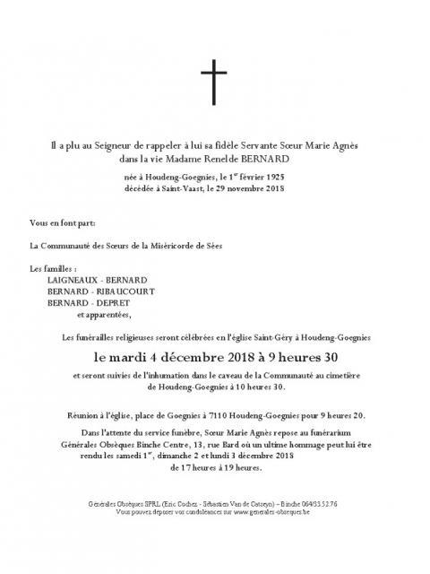 Soeur Marie-Agnès