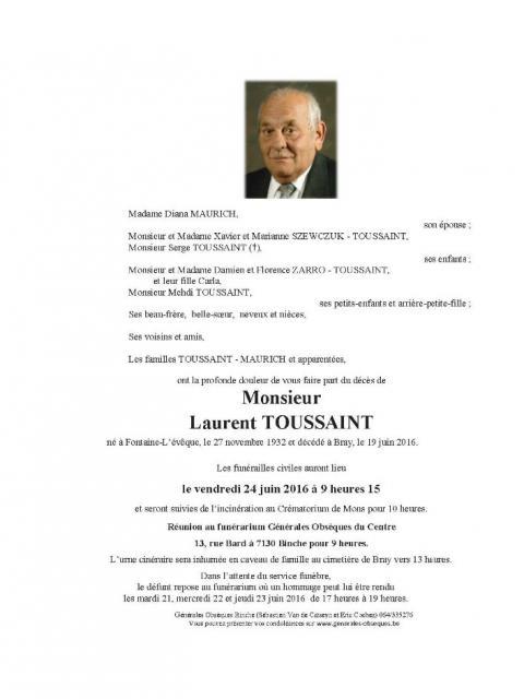 Toussaint Laurent