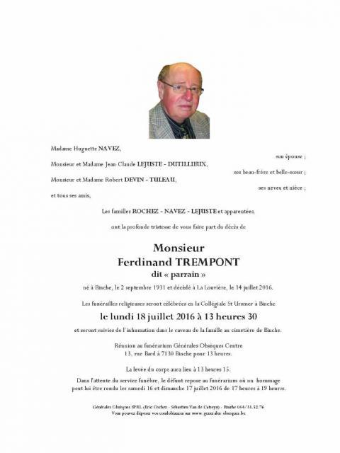 Trempont Ferdinand