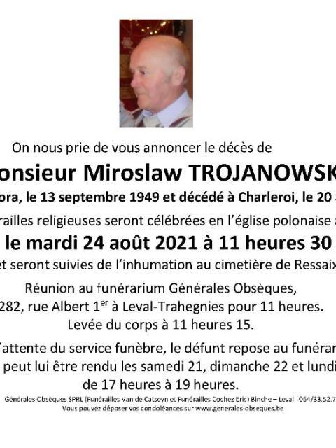 TROJANOWSKI Miroslaw
