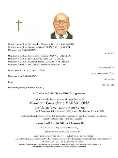 Varsalona Gioacchino
