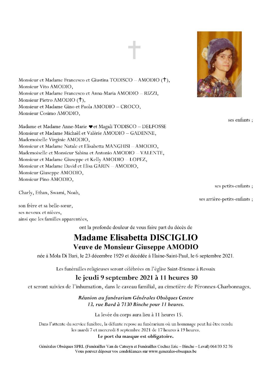 DISCIGLIO Elisabetta