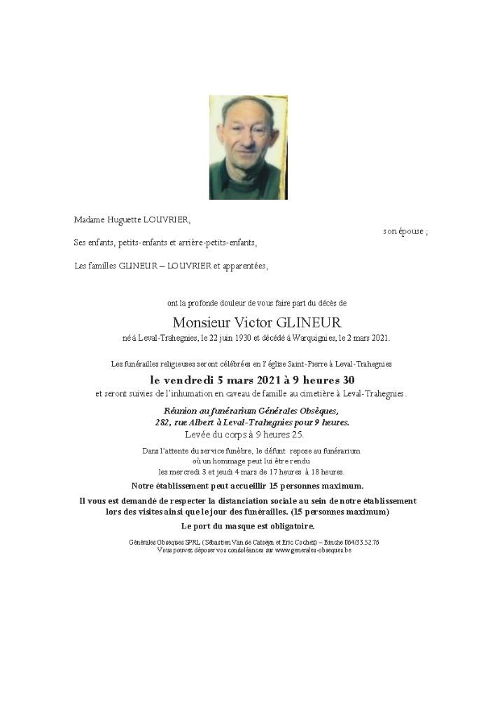 Glineur Victor