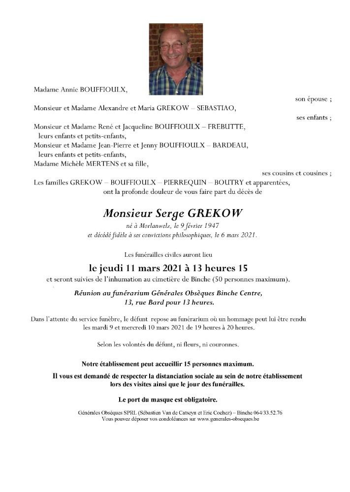 Grekow Serge