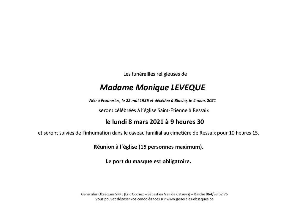 LEVEQUE Monique