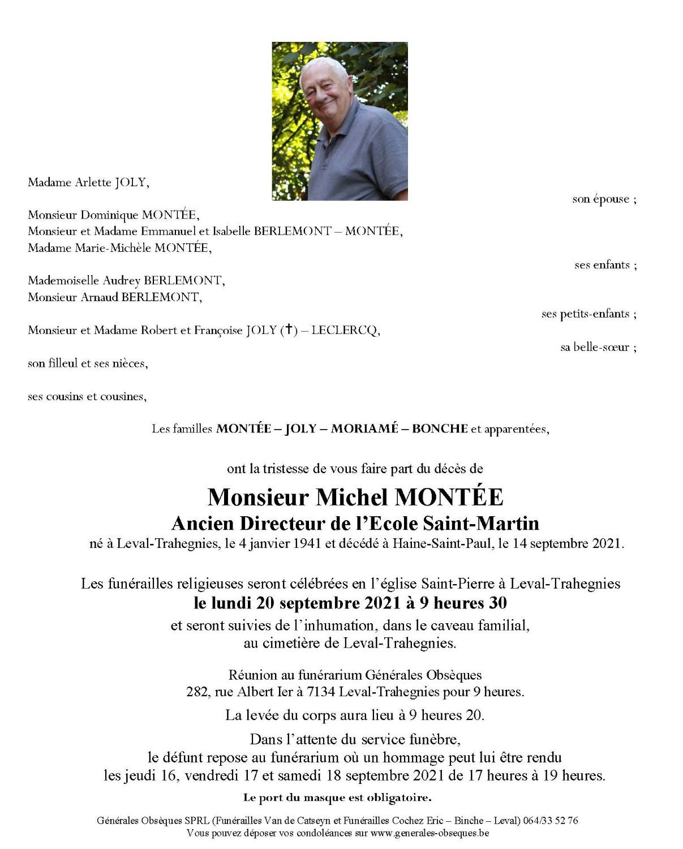 MONTEE Michel