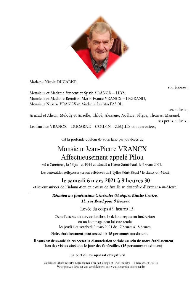 Vrancx Jean-Pierre